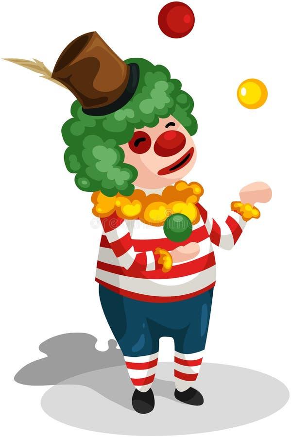 клоун бесплатная иллюстрация