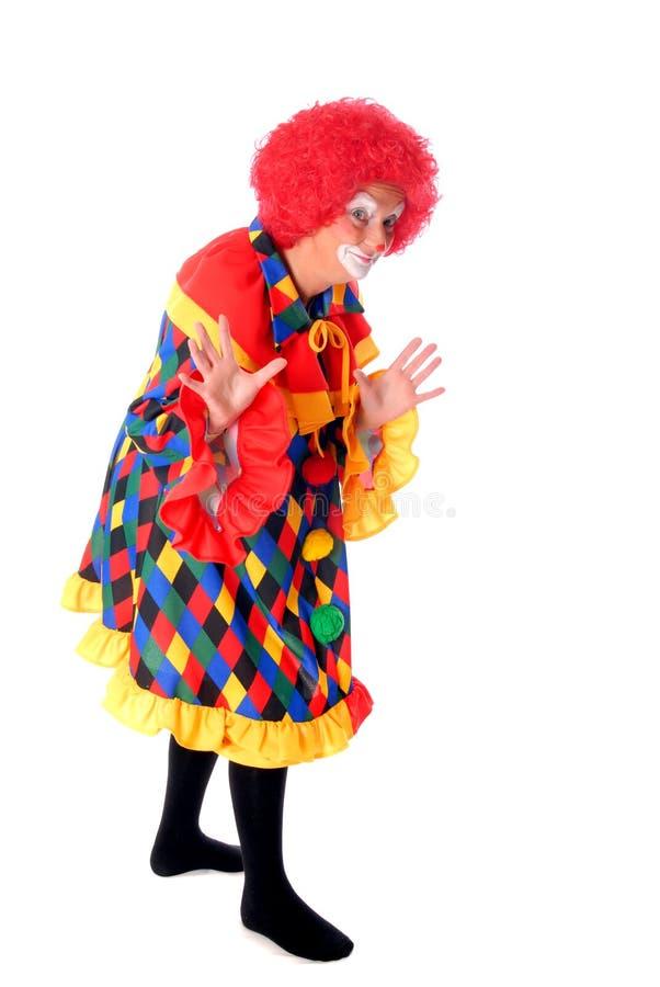 клоун halloween стоковые фото