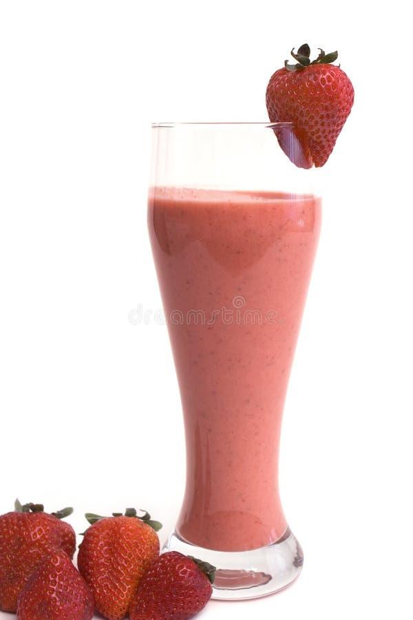 клубника коктеила стоковое изображение rf