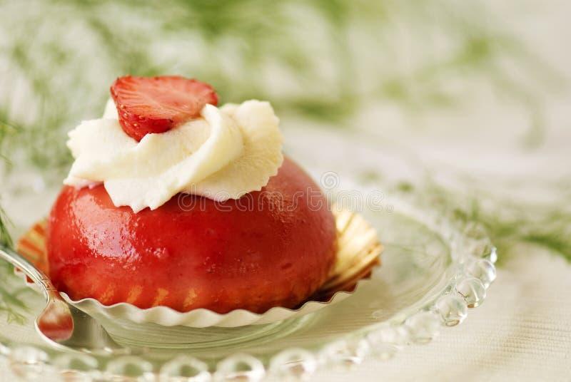клубника торта вкусная стоковое фото