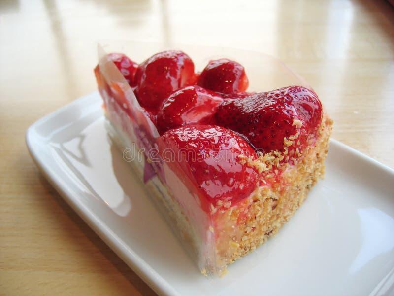 клубника торта стоковое изображение rf
