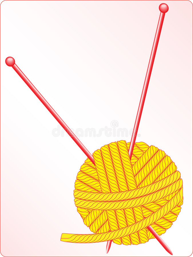клубок иллюстрация вектора
