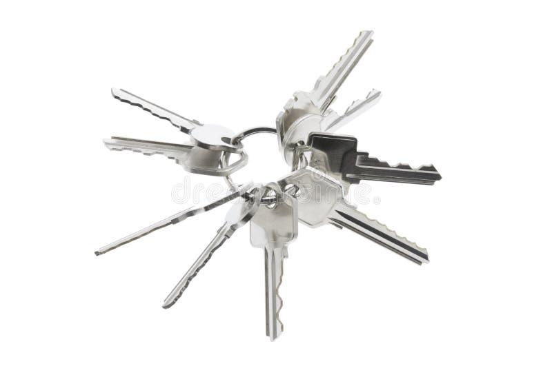 ключевое кольцо ключей стоковое фото