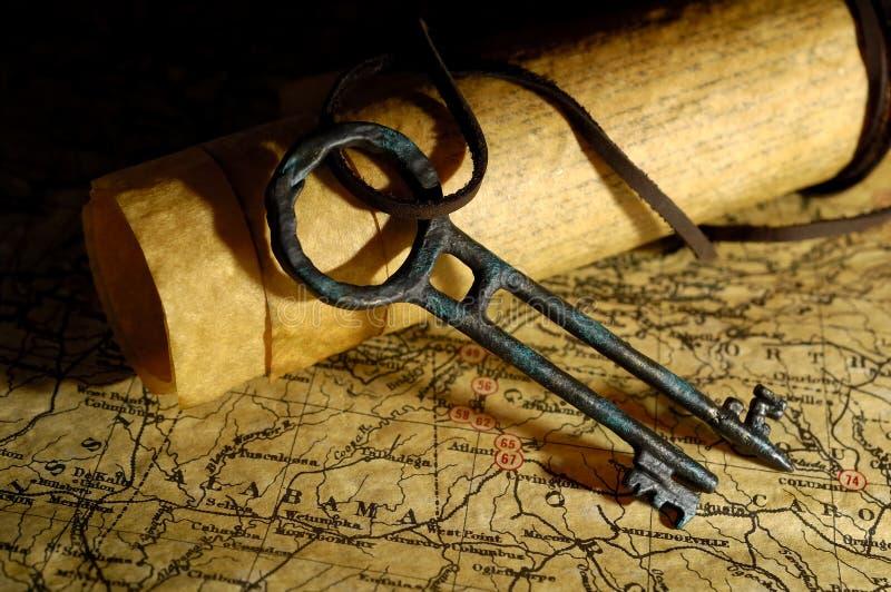 ключевое сокровище стоковое изображение rf