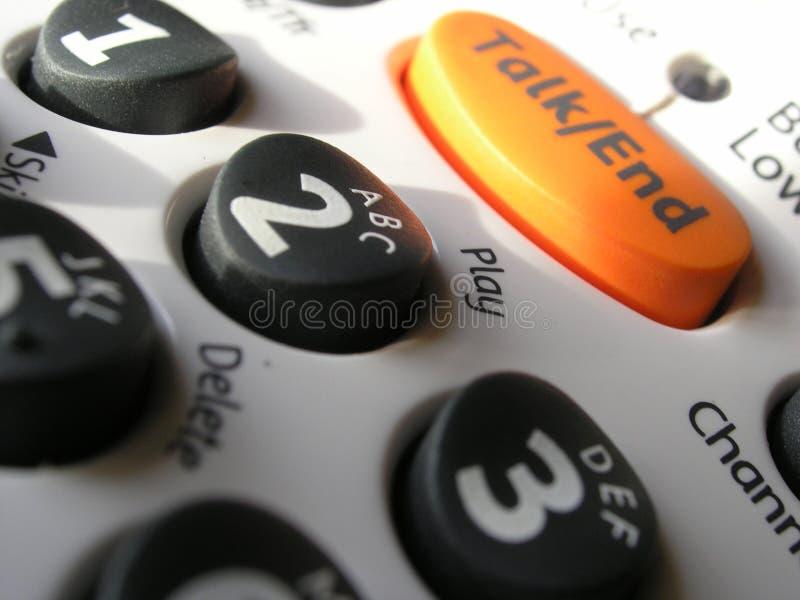 ключевой телефон пусковой площадки Стоковая Фотография RF