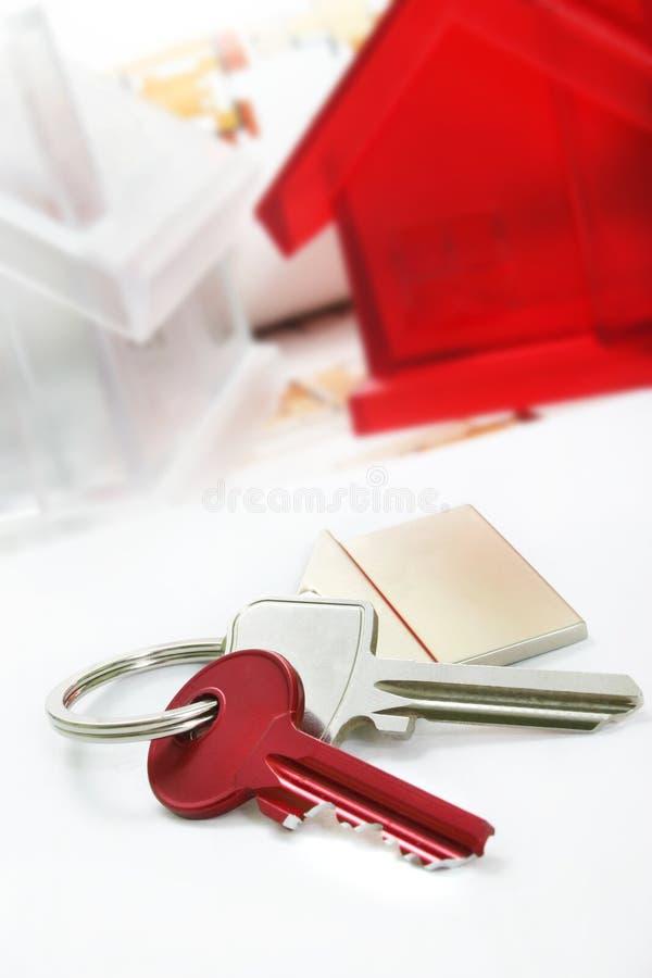 ключи дома стоковые изображения