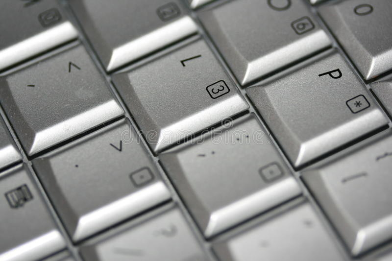 ключи компьютера стоковая фотография rf
