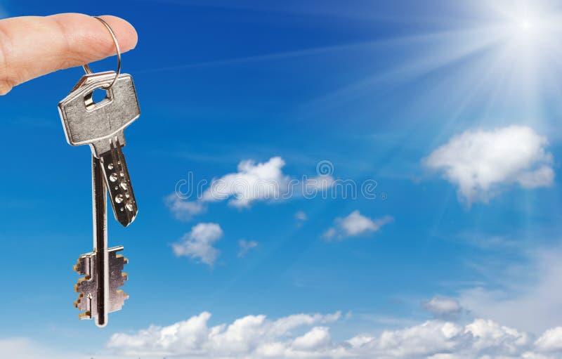 ключи перста стоковое фото rf
