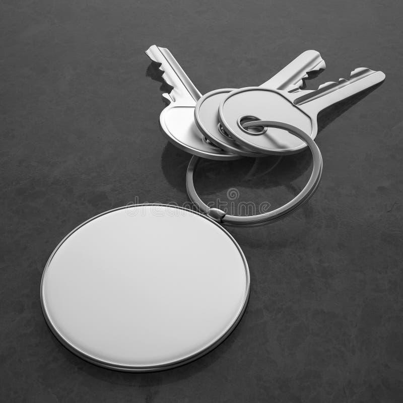 Ключи с пустым шкентелем стоковые фото