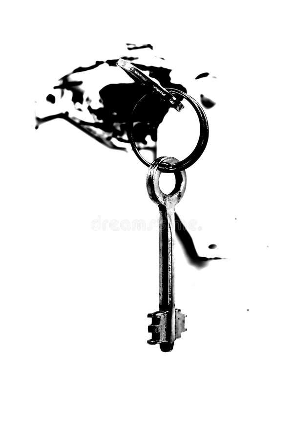 ключи фиксируют сейф стоковое фото rf