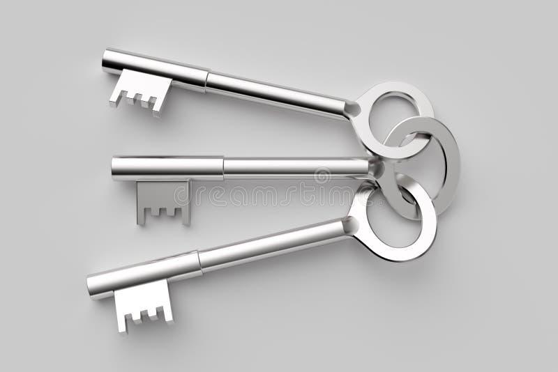 ключи иллюстрация штока