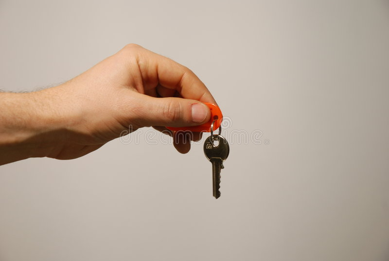 ключ руки стоковая фотография rf