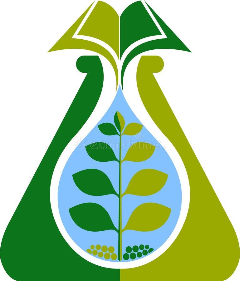 Книга лаборатории ботаники бесплатная иллюстрация