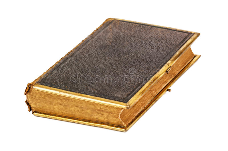 Книга Брайна старая закрытая & x28; Bible& x29; стоковое фото rf