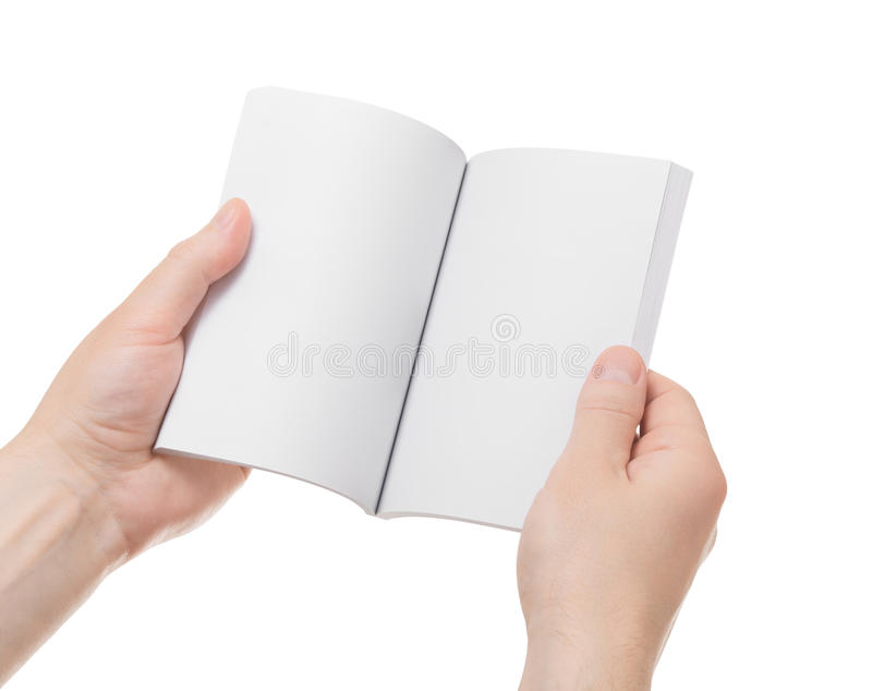 Книга в руках стоковое фото