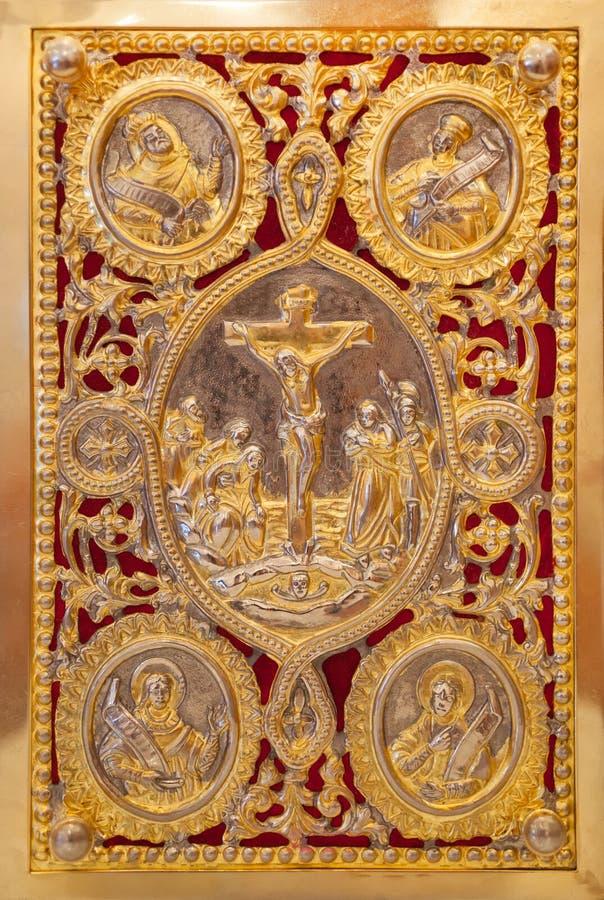Книга Евангелия стоковая фотография rf