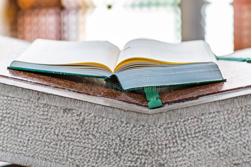 Книга Евангелия стоковое фото rf