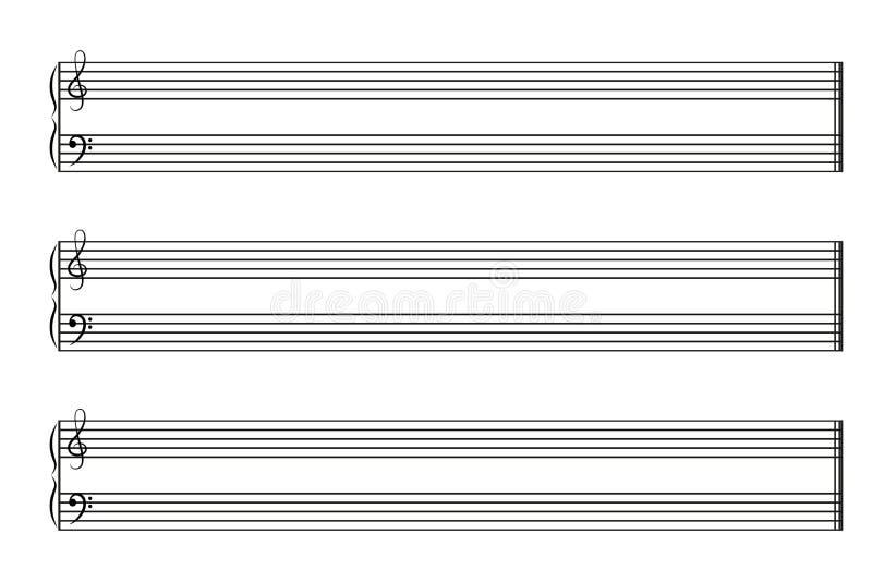 Книга нот с горизонтальной ударяет стоковое изображение rf