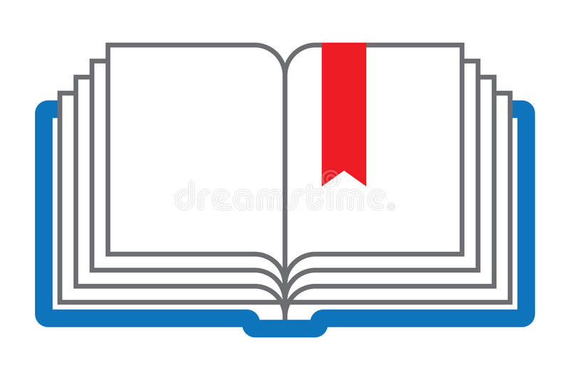 книга открытая иллюстрация штока