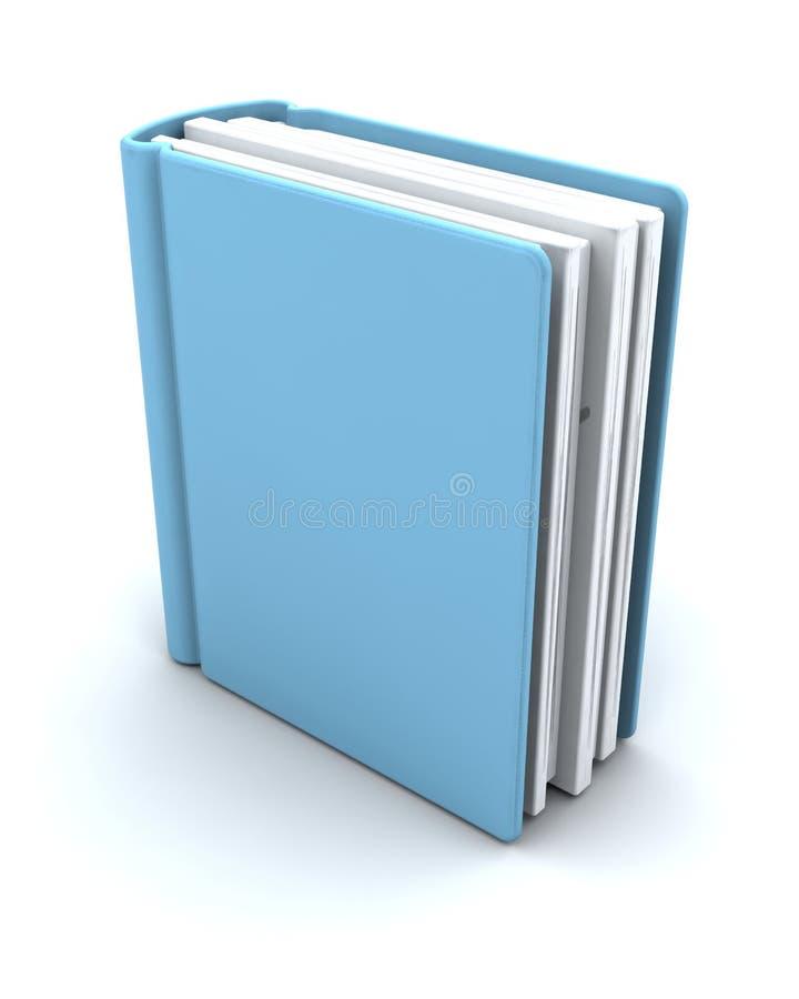 книга 3d представляет иллюстрация штока
