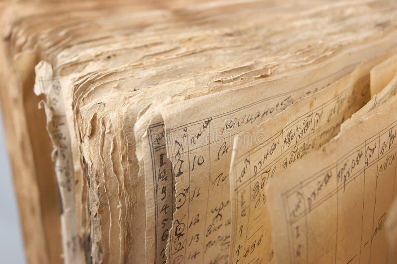 книга 5 старая стоковая фотография rf