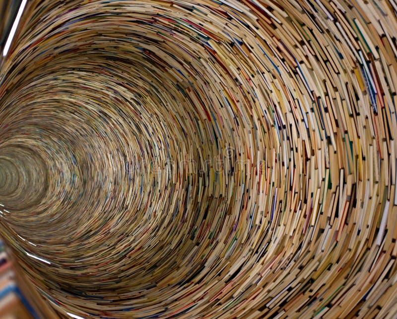 книги в библиотеке Праги стоковое изображение rf