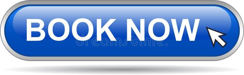 Книги синь кнопки сети значка теперь бесплатная иллюстрация