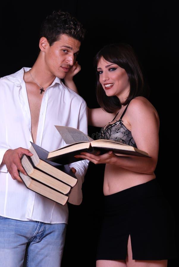 книги соединяют грека стоковое изображение