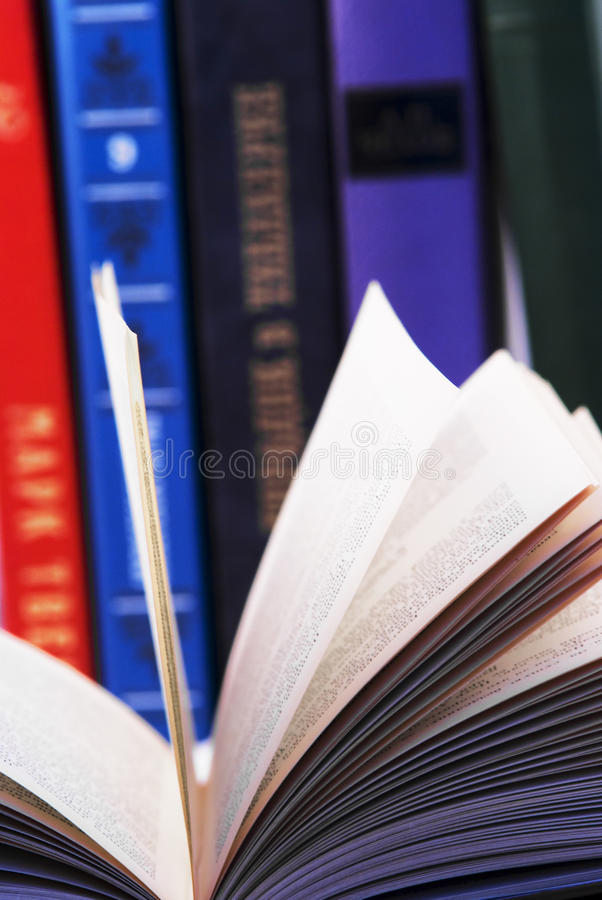книги Стоковые Фотографии RF
