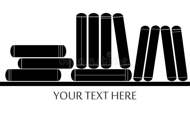 Книги иллюстрация вектора