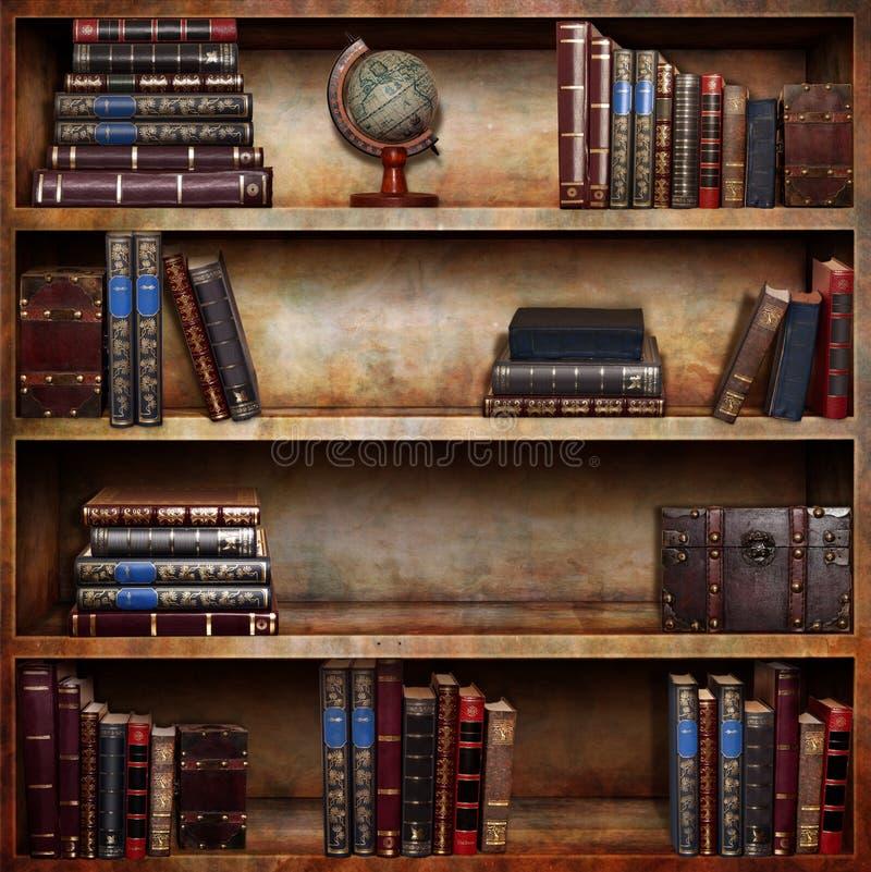 Книжная полка стоковая фотография rf