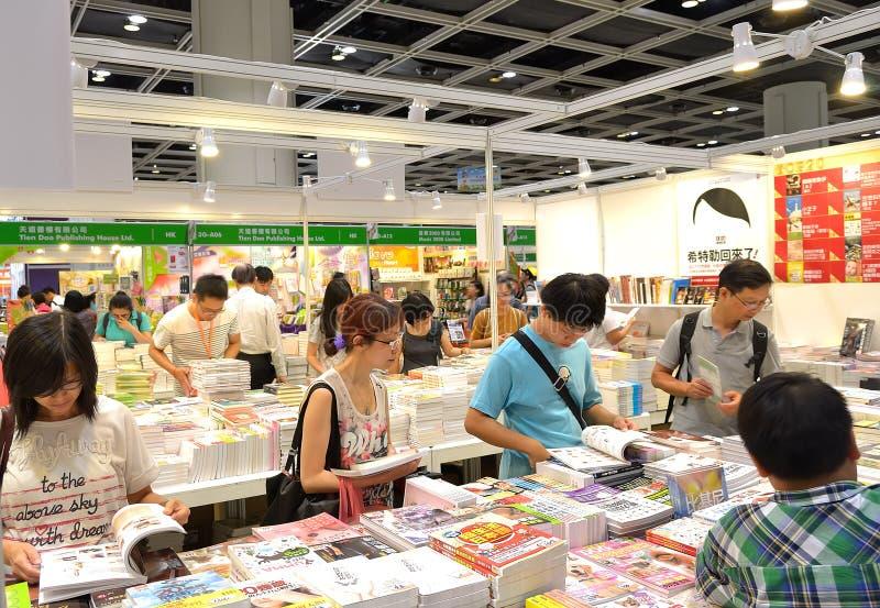Книжная ярмарка Гонконга стоковая фотография rf