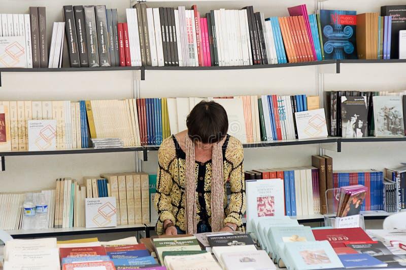 книжная ярмарка стоковые фотографии rf