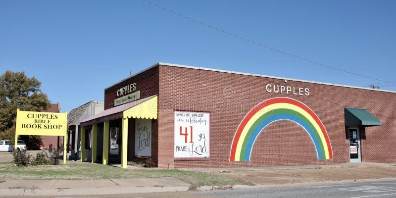 Книжный магазин западный Мемфис библии Cupples, Арканзас стоковые фотографии rf