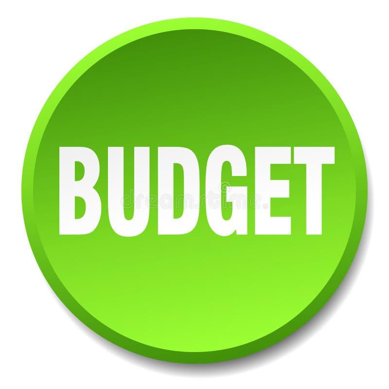 кнопка бюджета бесплатная иллюстрация