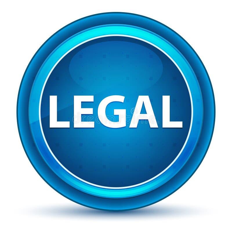 Кнопка законного зрачка голубая круглая бесплатная иллюстрация