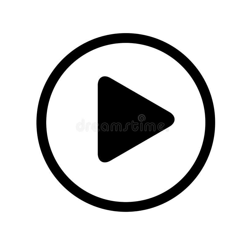 Кнопка значка игры иллюстрация вектора
