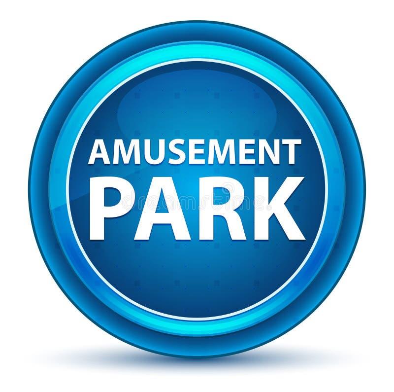Кнопка зрачка парка атракционов голубая круглая бесплатная иллюстрация