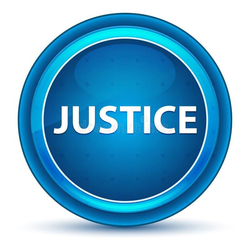 Кнопка зрачка правосудия голубая круглая бесплатная иллюстрация