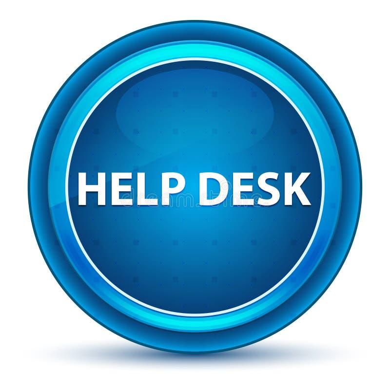 Кнопка зрачка справочного бюро голубая круглая бесплатная иллюстрация