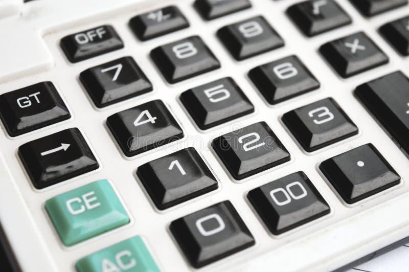 Кнопка калькулятора стоковое изображение rf