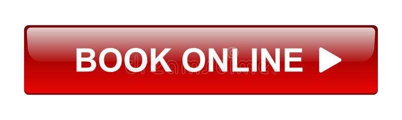 Кнопка книги онлайн иллюстрация штока