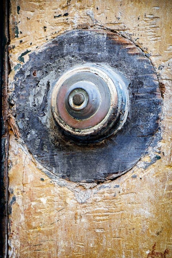 Кнопка колокола стоковое фото