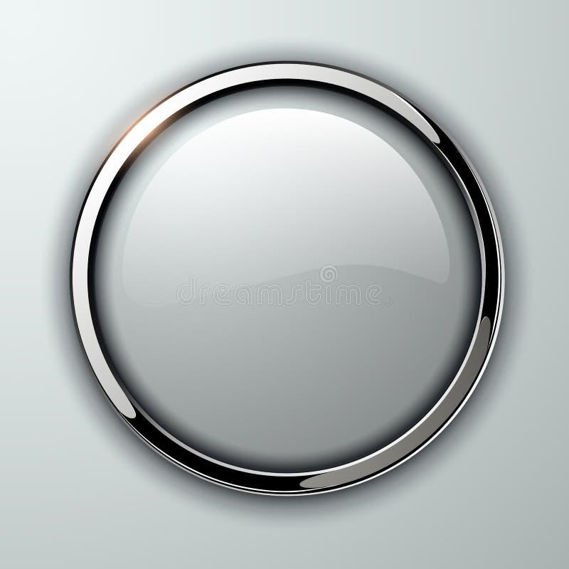 кнопка лоснистая бесплатная иллюстрация
