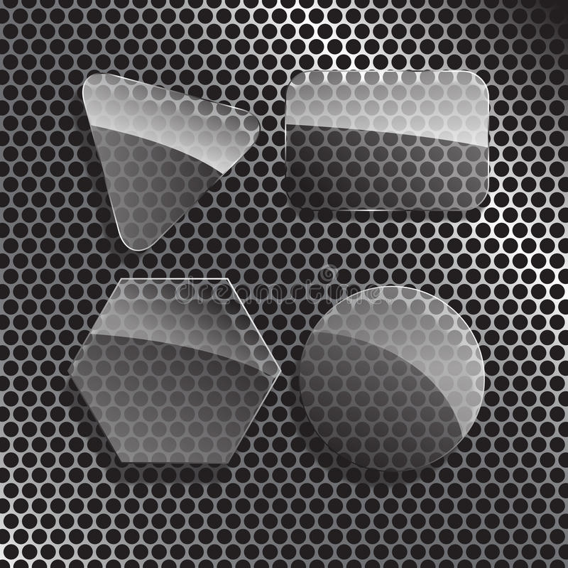 кнопка прозрачная стоковое изображение rf