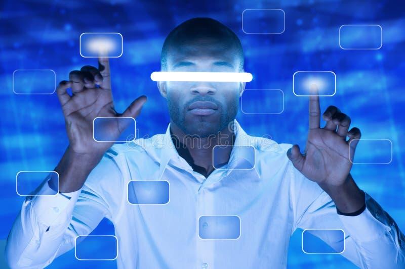 Кнопка сенсорного экрана стоковые изображения