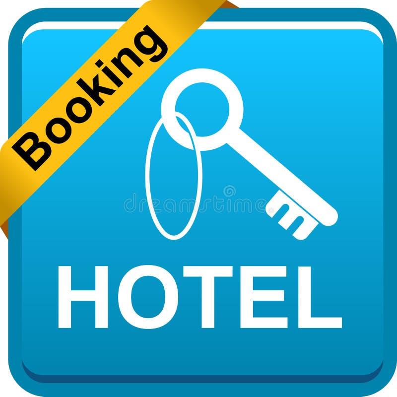 Кнопка сети значка гостиницы ключевая бесплатная иллюстрация