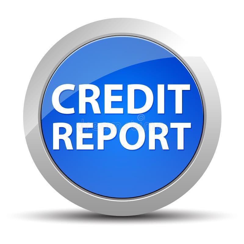 Кнопка справки о кредитоспособности голубая круглая бесплатная иллюстрация