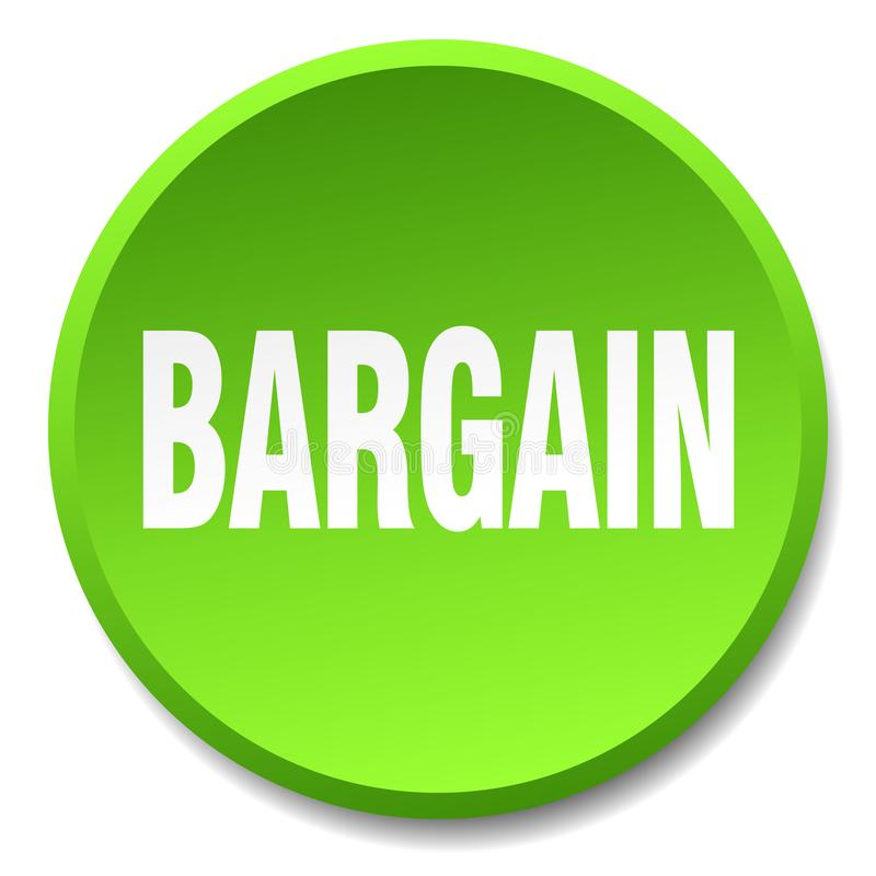 кнопка торговой сделки иллюстрация штока