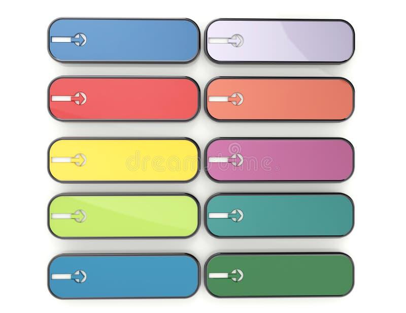 кнопка 3d бесплатная иллюстрация